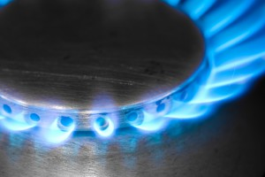 Natural Gas Burning Flame from Tragar Home Services