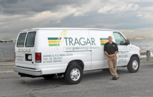Tragar Home Services van