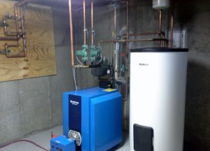 Buderus Boiler & SU54 Indirect Heater from Tragar Home Services