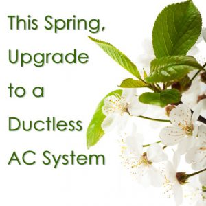 upgrade to a ductless air conditioning system
