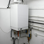 boiler for heating a home in Suffolk County by Tragar Home Services