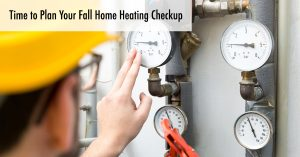 Fall Home Heating Checkup From Tragar Home Services