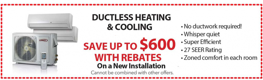 Ductless-Heating-And-Cooling-Coupon-Tragar-Home-Services-April-2019