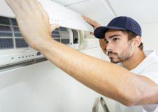 Male-Fixing-AC-Unit-Tragar-Home-Services-April-2019