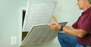 Tragar Empoyee Servicing Air Conditioning