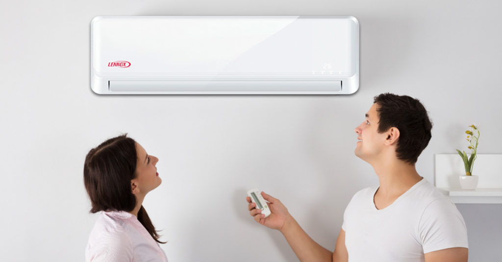 ductless mini-split A/C from Lennox