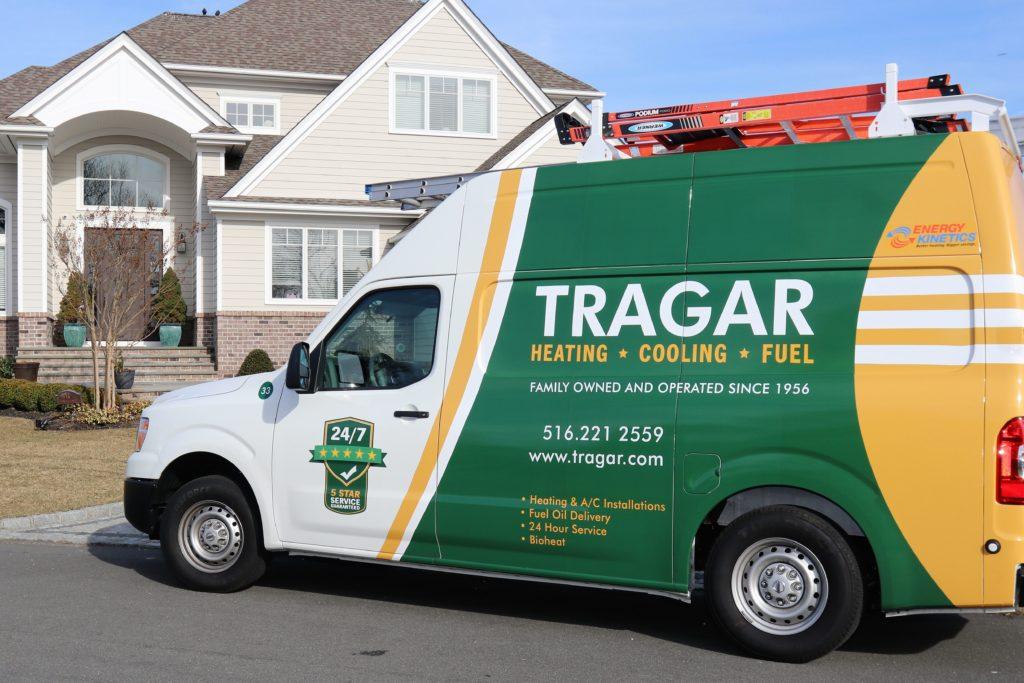 Tragar HVAC Work Van