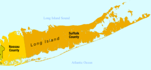 long island new york map