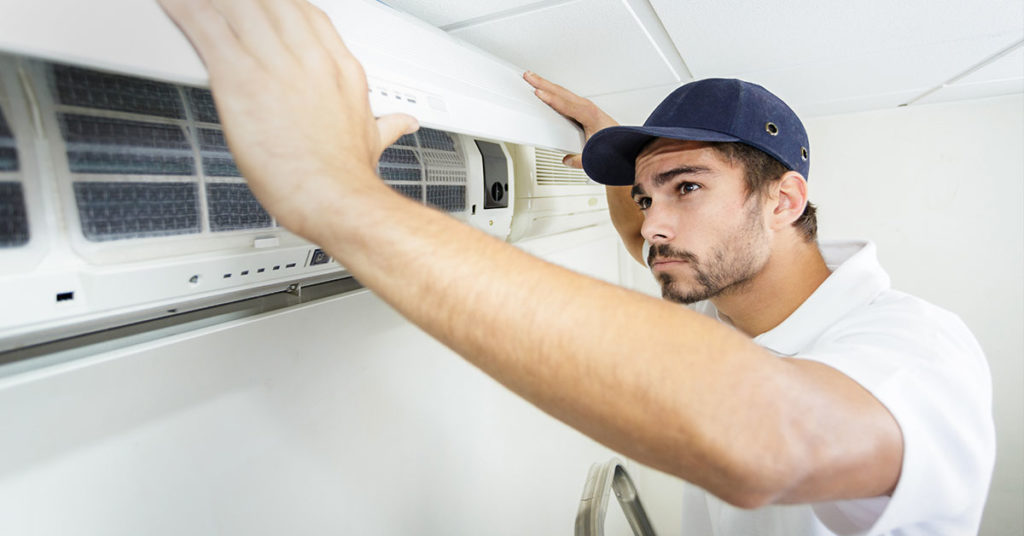 ductless system cleaning service from Tragar