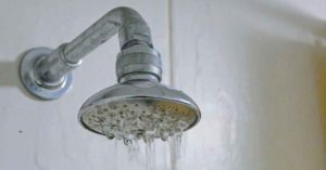 Contaminated water from shower head on Long Island